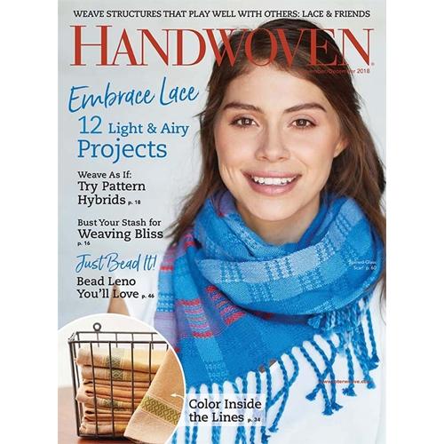 Handwoven November/December 2018 Magazine