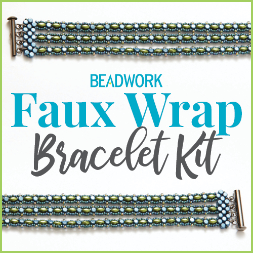 Beadwork Faux Wrap Bracelet Kit