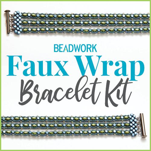Beadwork Faux Wrap Bracelet Kit