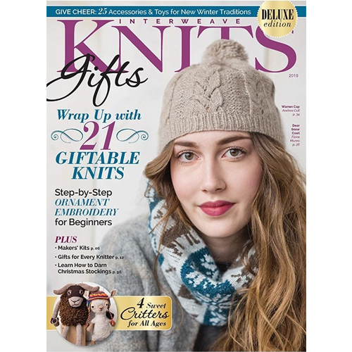 Interweave Knits Gifts, 2018 Magazine