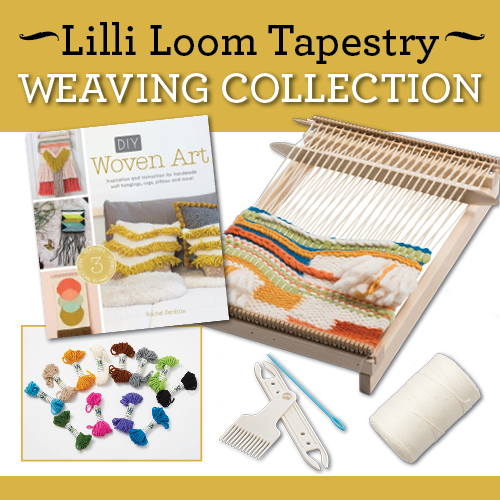 Lilli Loom Tapestry Weaving Collection