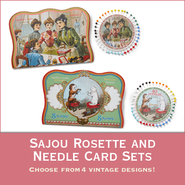 Sajou Rosette and Needle Card Sets