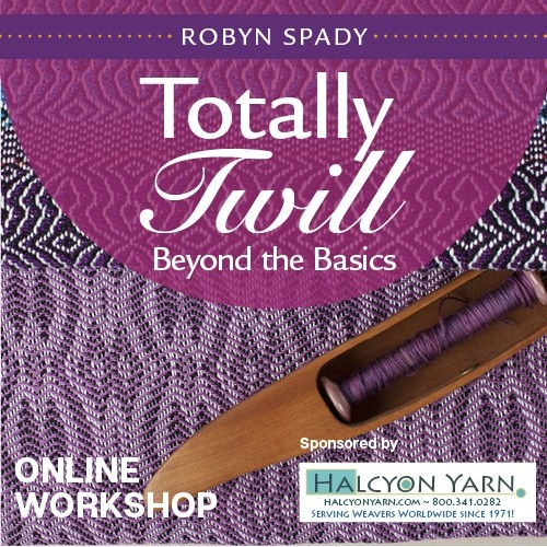 Totally Twill: Beyond the Basics Online Workshop