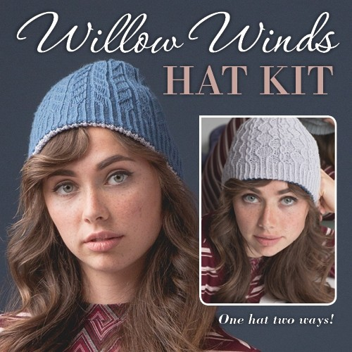 Willow Winds Hat Knitting Kit