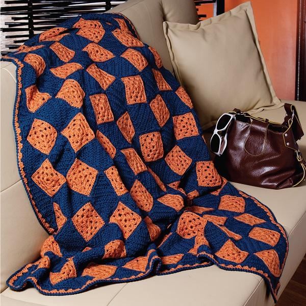 Marmalade Skies Afghan Crochet Pattern Download
