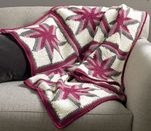 Star Afghan by Mary Beth Temple Bethlehem | CrochetMe.com