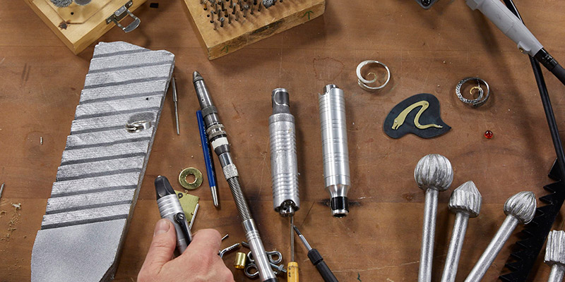 Metalsmithing Tools: 5 Essential and Uncommon Ways to Use a Flex Shaft with Andy Cooperman