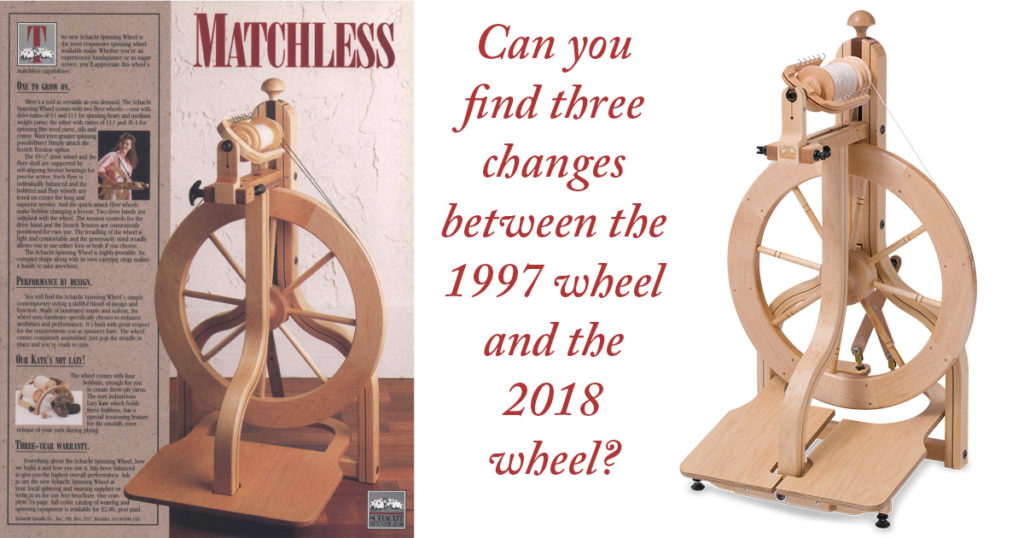 Building a Better Spinning Wheel