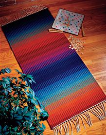 Krokbragd rug by Wynne Mattila