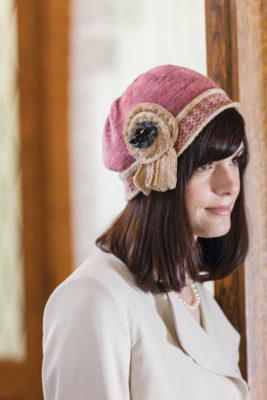 Maudie-Jane Cloche to Knit, Julie Turjoman