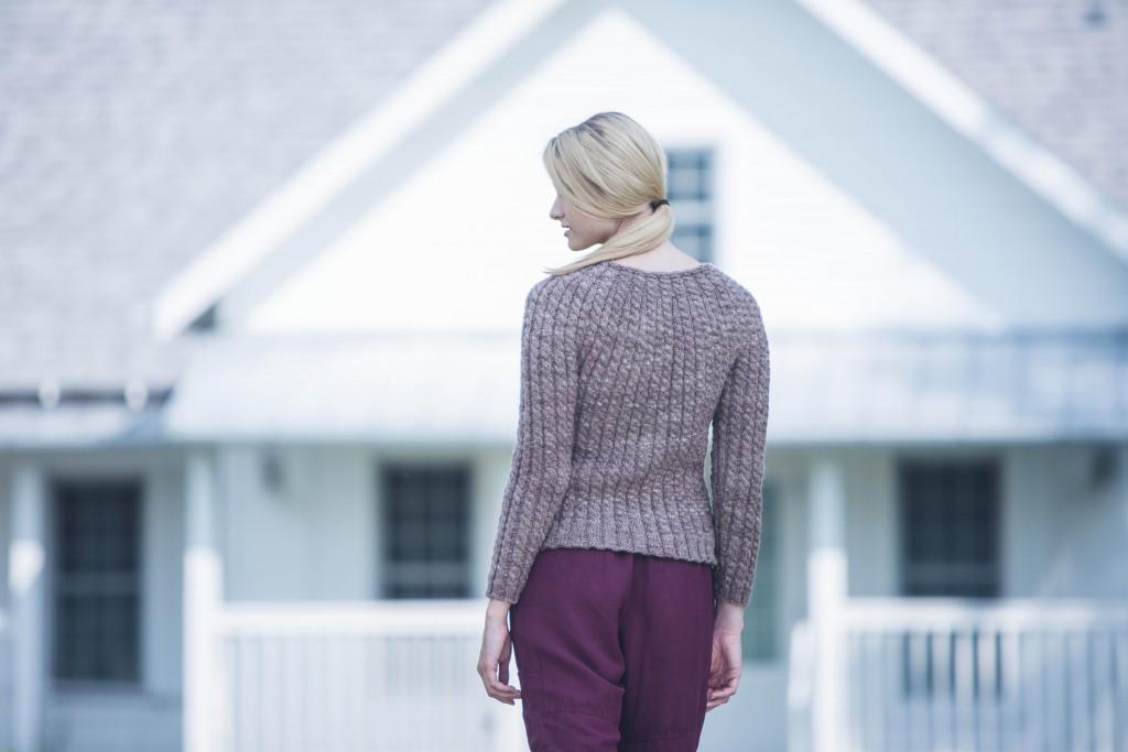 Rachel Maurer Walthall Sweater knit sweater pattern