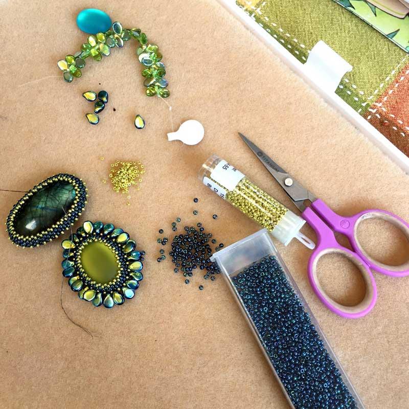 Beading Inspiration and Advice from Designer Andrea Mazzenga