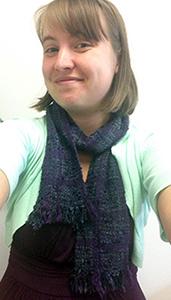 Christina's scarf on Christina