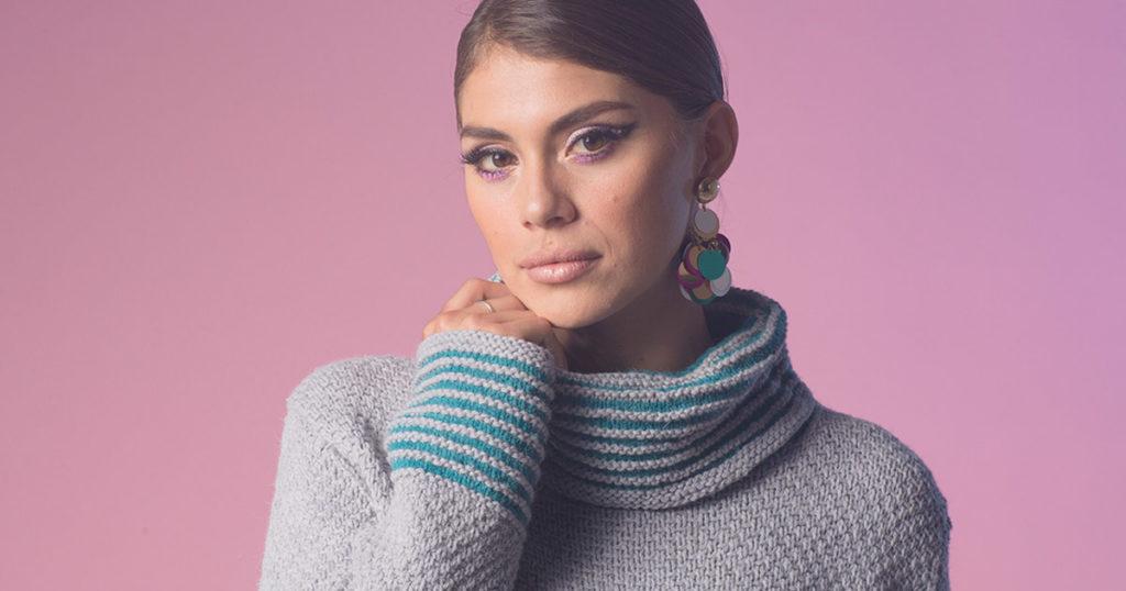 <em>knitscene</em> Winter 2018: Meadowlark Garden Sweater