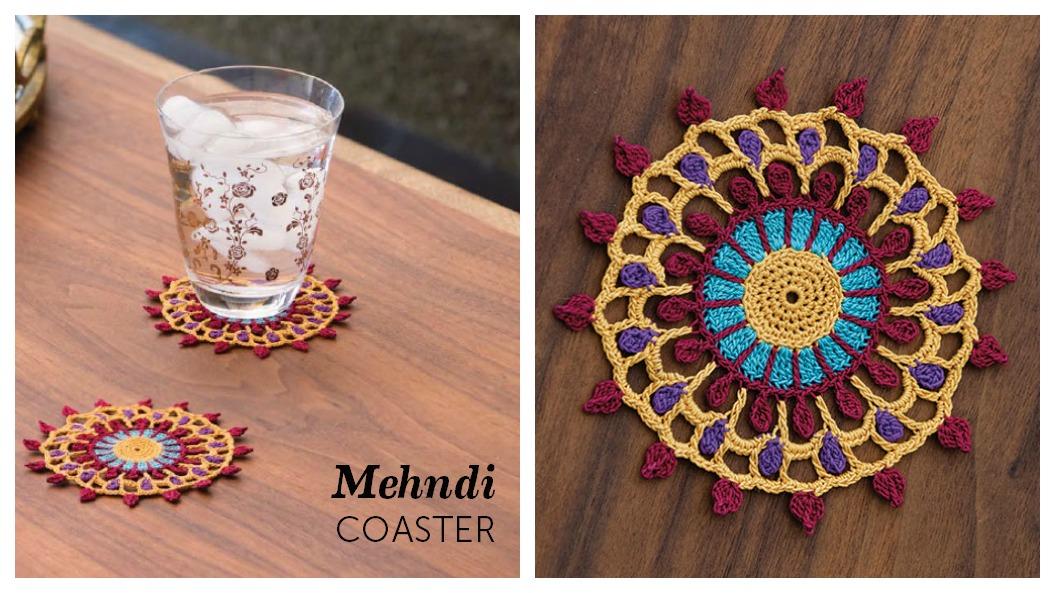 Mehndi-Coaster