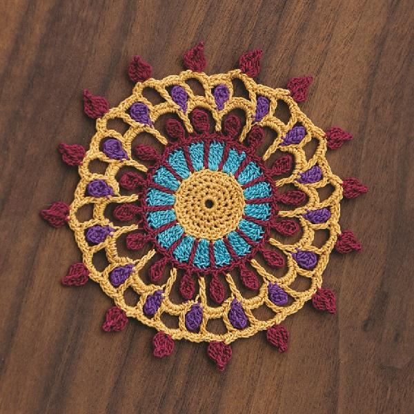 Mehndi Coaster