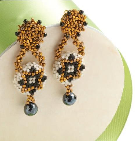 Mosaico Earrings by Maggie Meister
