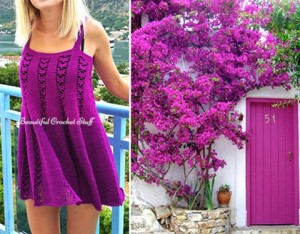 MemCrochetPurpleDress