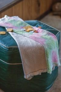 Watercolor Towels by Anne Merrow