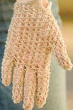 lace glove knitting pattern