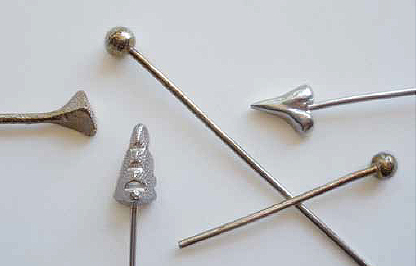 How To Make Metal Clay Headpins