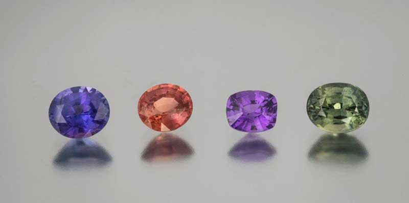 Gemstones and Birthstones: Sapphire — Beautiful Blue and All Colors of the Rainbow