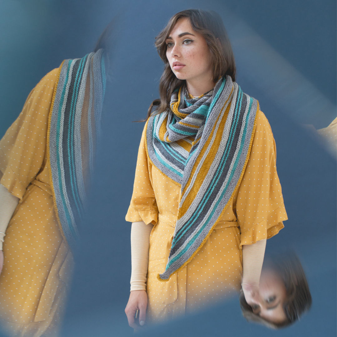 Millcroft Shawl, Photo by Harper Point Photography