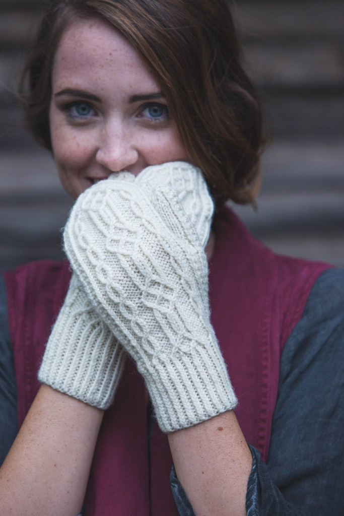 Janet Milne Tulle Mittens knit mittens pattern