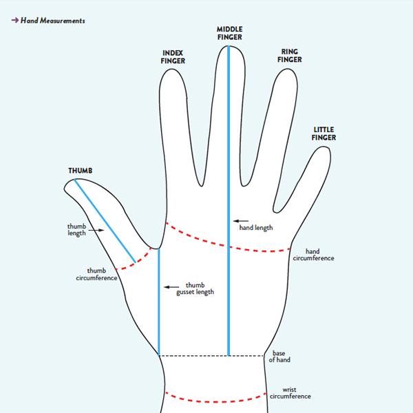 Mitten Anatomy: The Thumb Gusset - Interweave