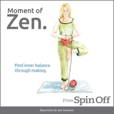 Find inner balance through making.