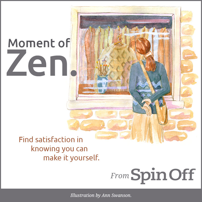 Moment of Zen-Satisfaction