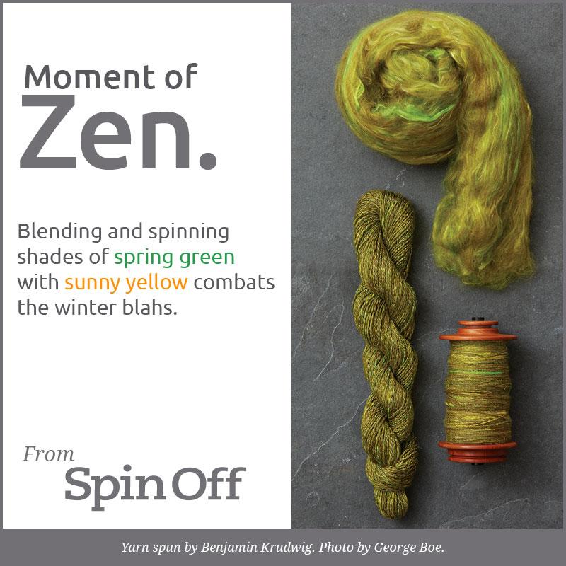 Moment of Zen: Spring Green
