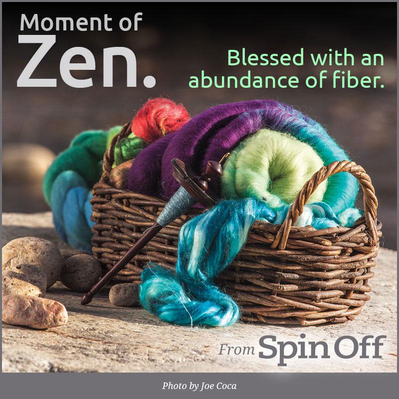 Moment of Zen: Blessed