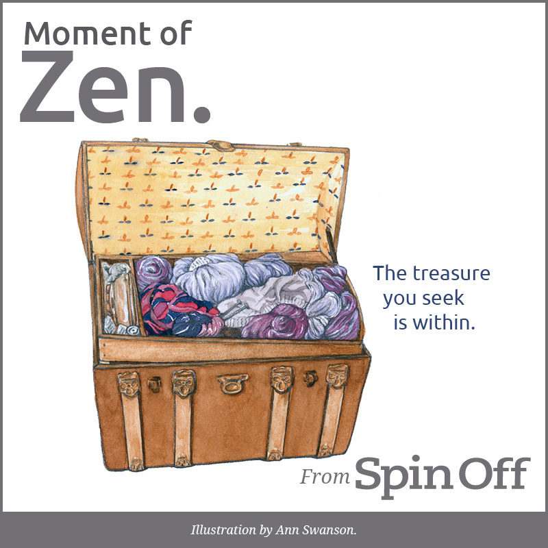 Moment of Zen: Treasure