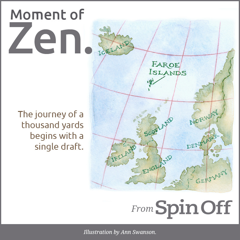 Moment of Zen: The journey