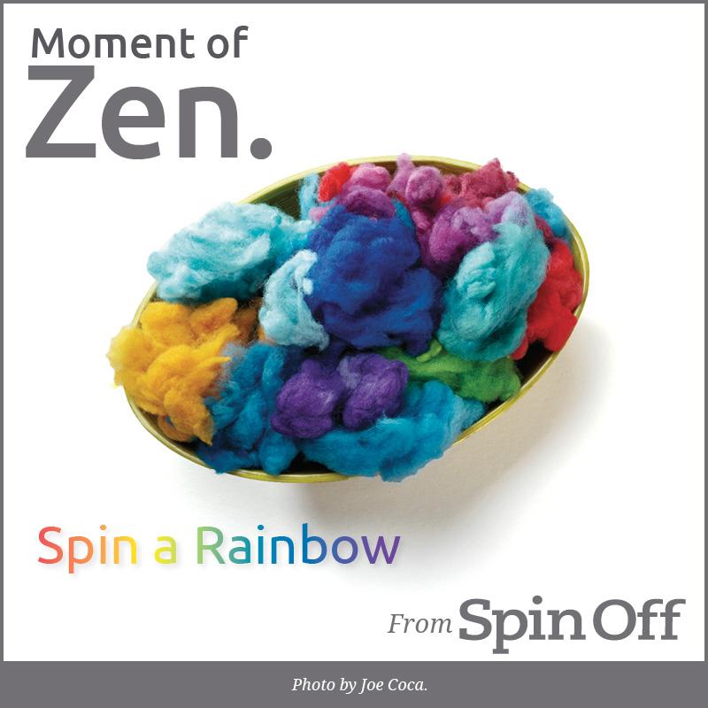 Spin Rainbows