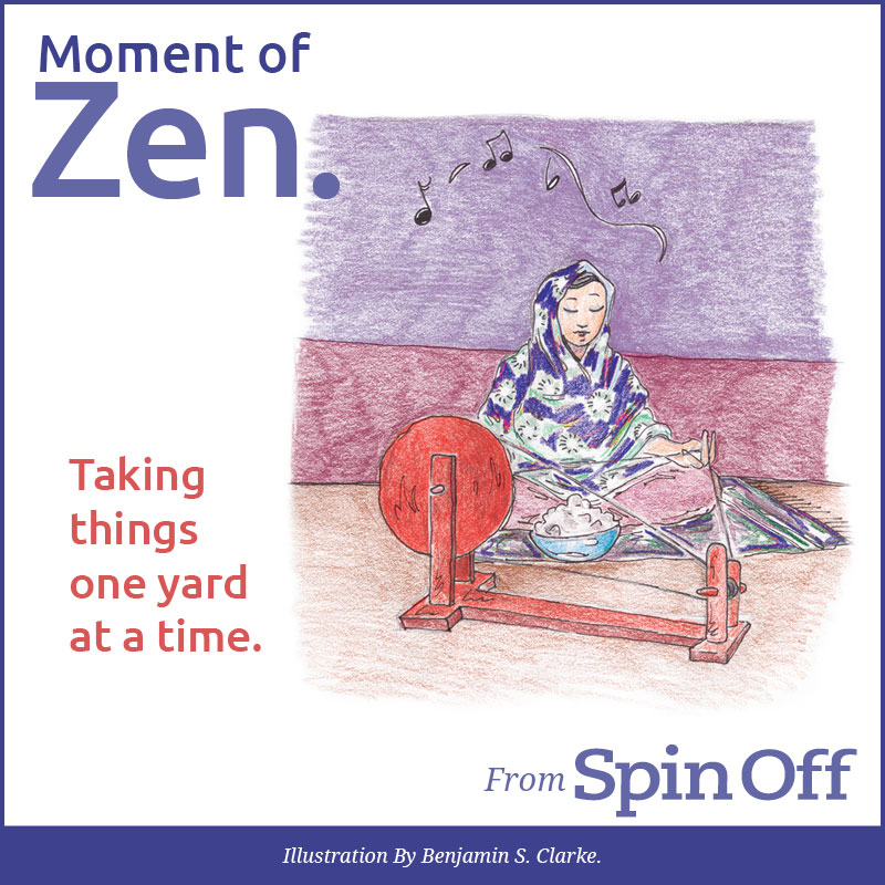Moment of Zen: Drafting to Calm