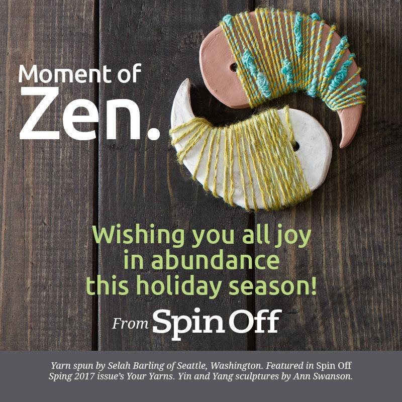 Moment of Zen: Happy Holidays