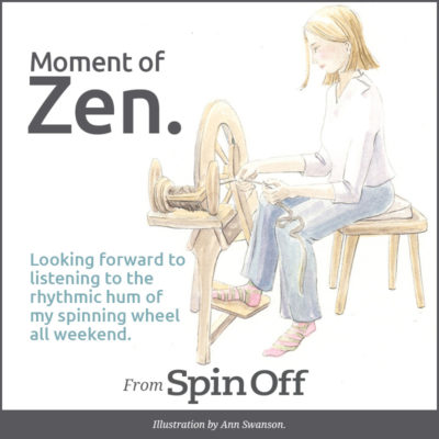zen wheel humming
