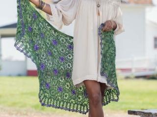 Montclair Shawl Crochet Pattern