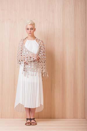 Moondrop Shawl Crochet Pattern