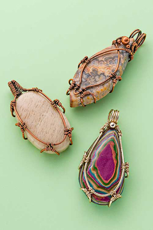 Step by step wire jewelry december 2015 january 2016 for Step by step wire jewelry subscription