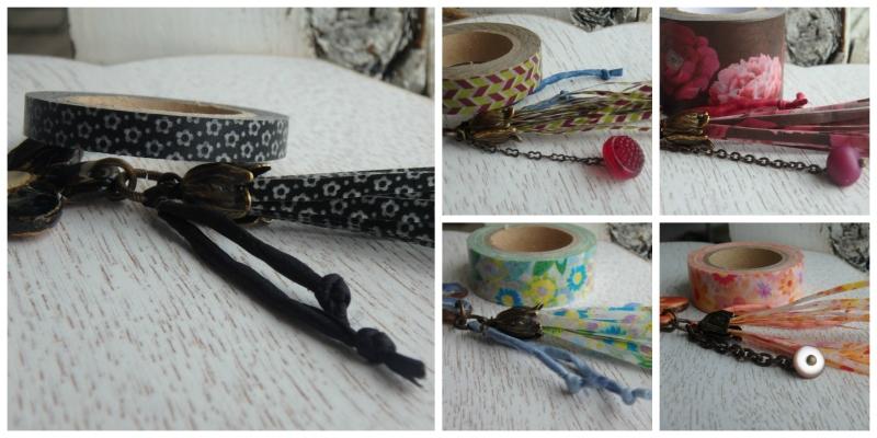 washi tape tassels