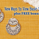 New Ways to View Basic Shapes with <em>New Stamped Metal Jewelry</em>