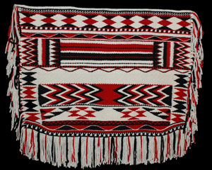 Coast Salish blanket from the Burke Museum collection