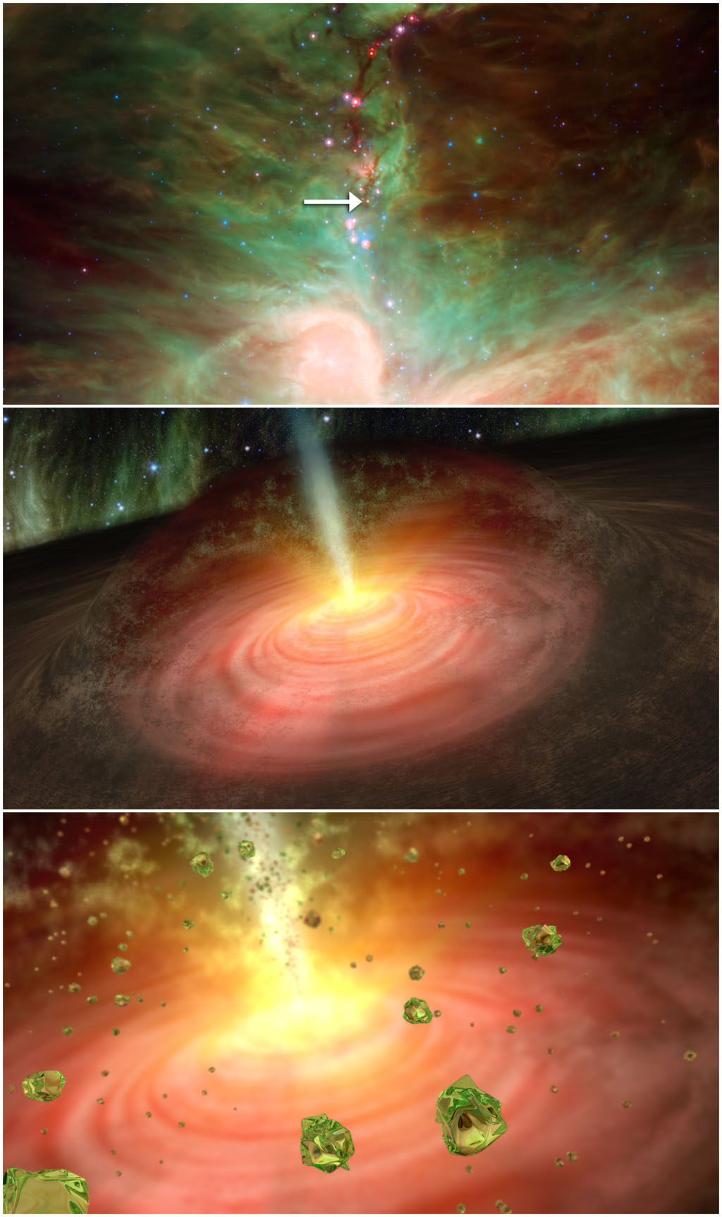 Birthstones & Gemstones: Peridots in Space
