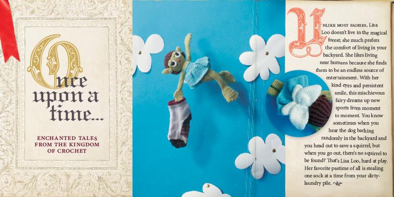 Crochet Toys on Tell a Fairy Tale Day
