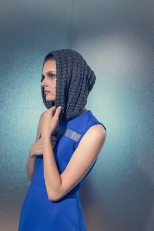 Nautilus Hood Crochet Hood