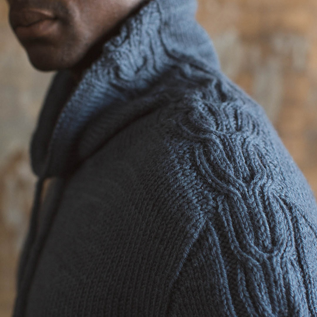 Nelson Pullover | Photography for Interweave Knits Fall 2017 by Nathan Rega
