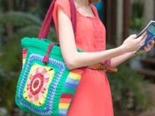 Summer Crochet Tote